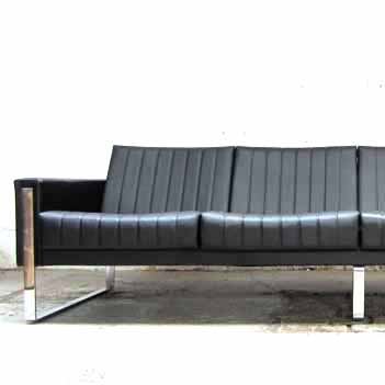 4er sofa skai leder topzustand m bel z rich vintagem bel. Black Bedroom Furniture Sets. Home Design Ideas