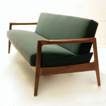 Bettsofa dänisch, dunkelgrün | Möbel Zürich | Vintagemöbel