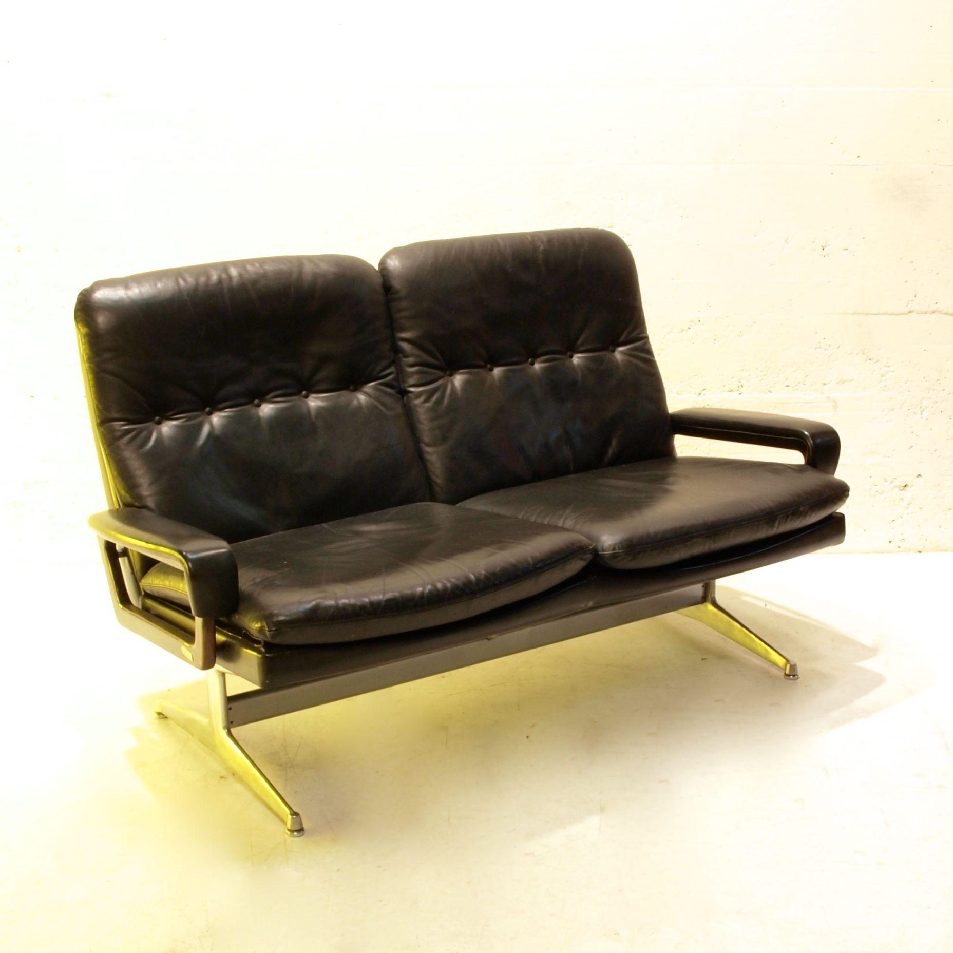 2er ledersofa king von str ssle m bel z rich. Black Bedroom Furniture Sets. Home Design Ideas