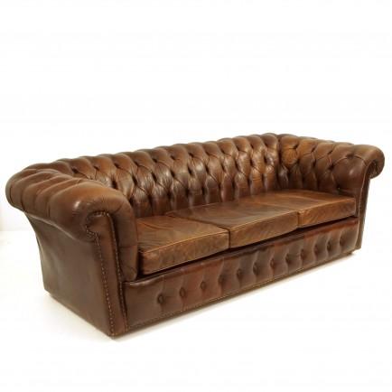chesterfield ledersofa m bel z rich vintagem bel. Black Bedroom Furniture Sets. Home Design Ideas