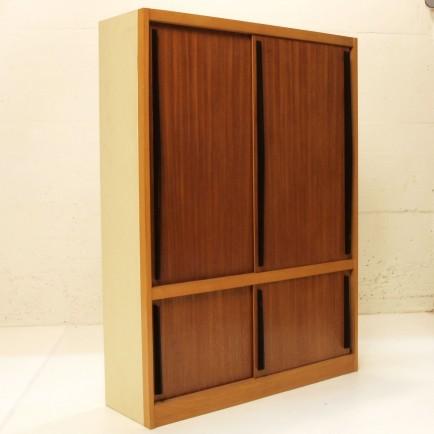 doppelst ckiger schiebeschrank m bel z rich vintagem bel. Black Bedroom Furniture Sets. Home Design Ideas