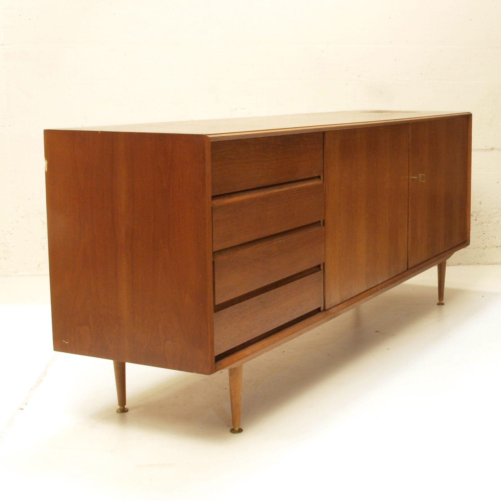sideboard teak 2 meter in restauration m bel z rich vintagem bel. Black Bedroom Furniture Sets. Home Design Ideas