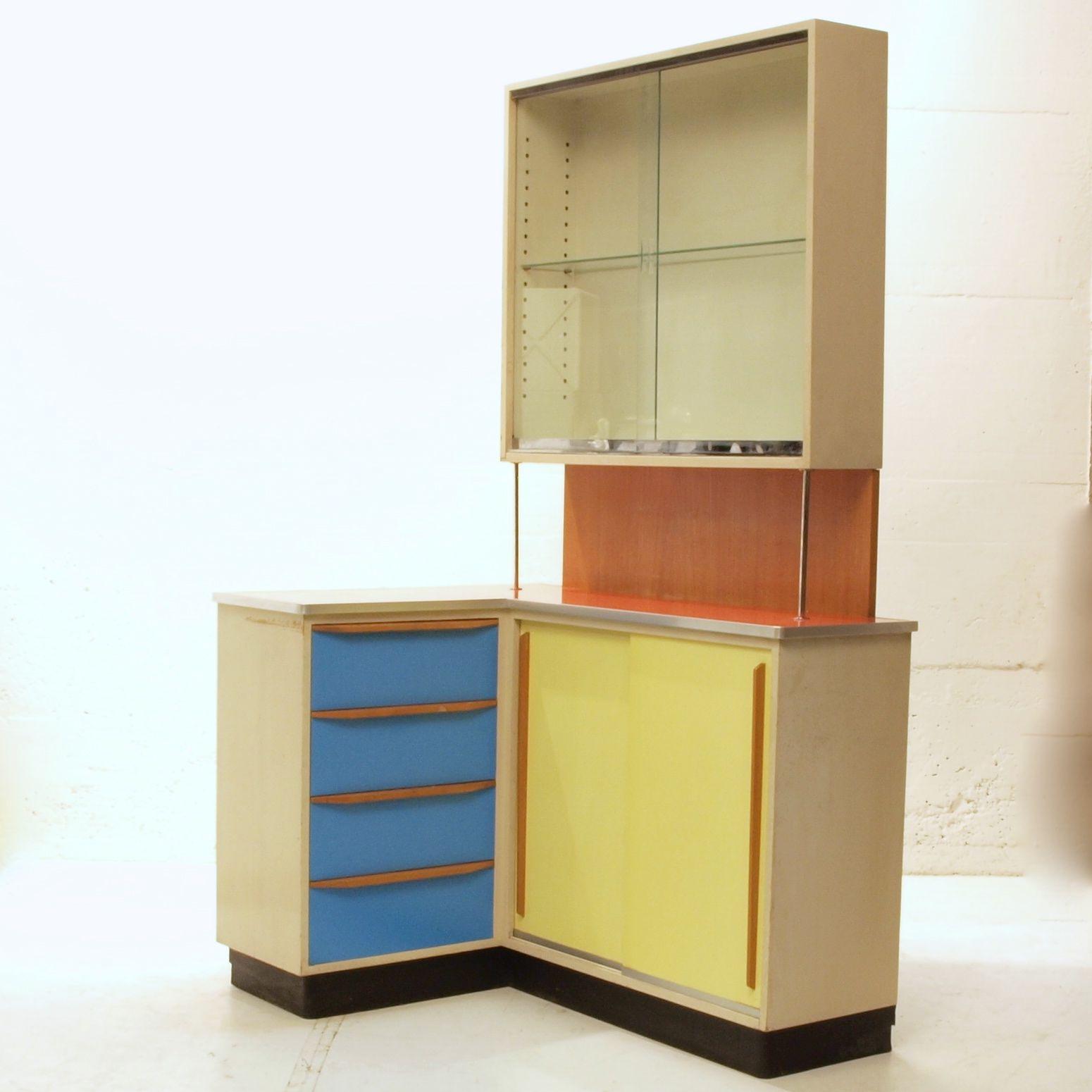 50ies k chen eck m bel m bel z rich vintagem bel. Black Bedroom Furniture Sets. Home Design Ideas