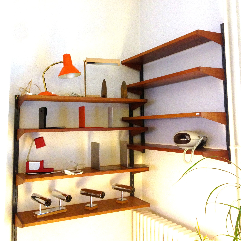 individuelles wandregal, verstellbar  möbel zürich  ~ Bücherregal Designklassiker