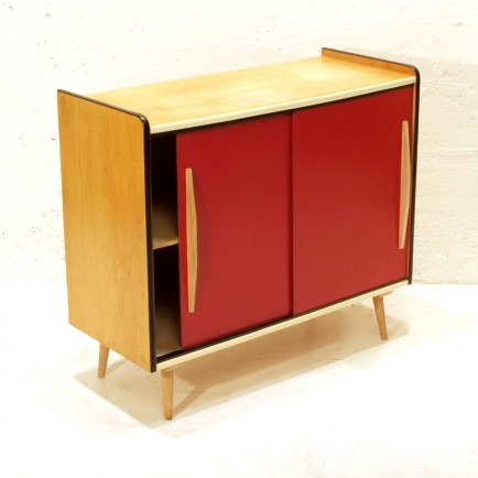 50ies schiebeschrank m bel z rich vintagem bel. Black Bedroom Furniture Sets. Home Design Ideas
