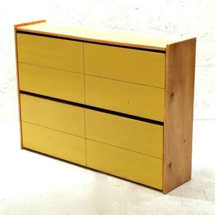 schuhschrank tanne gelb m bel z rich vintagem bel. Black Bedroom Furniture Sets. Home Design Ideas
