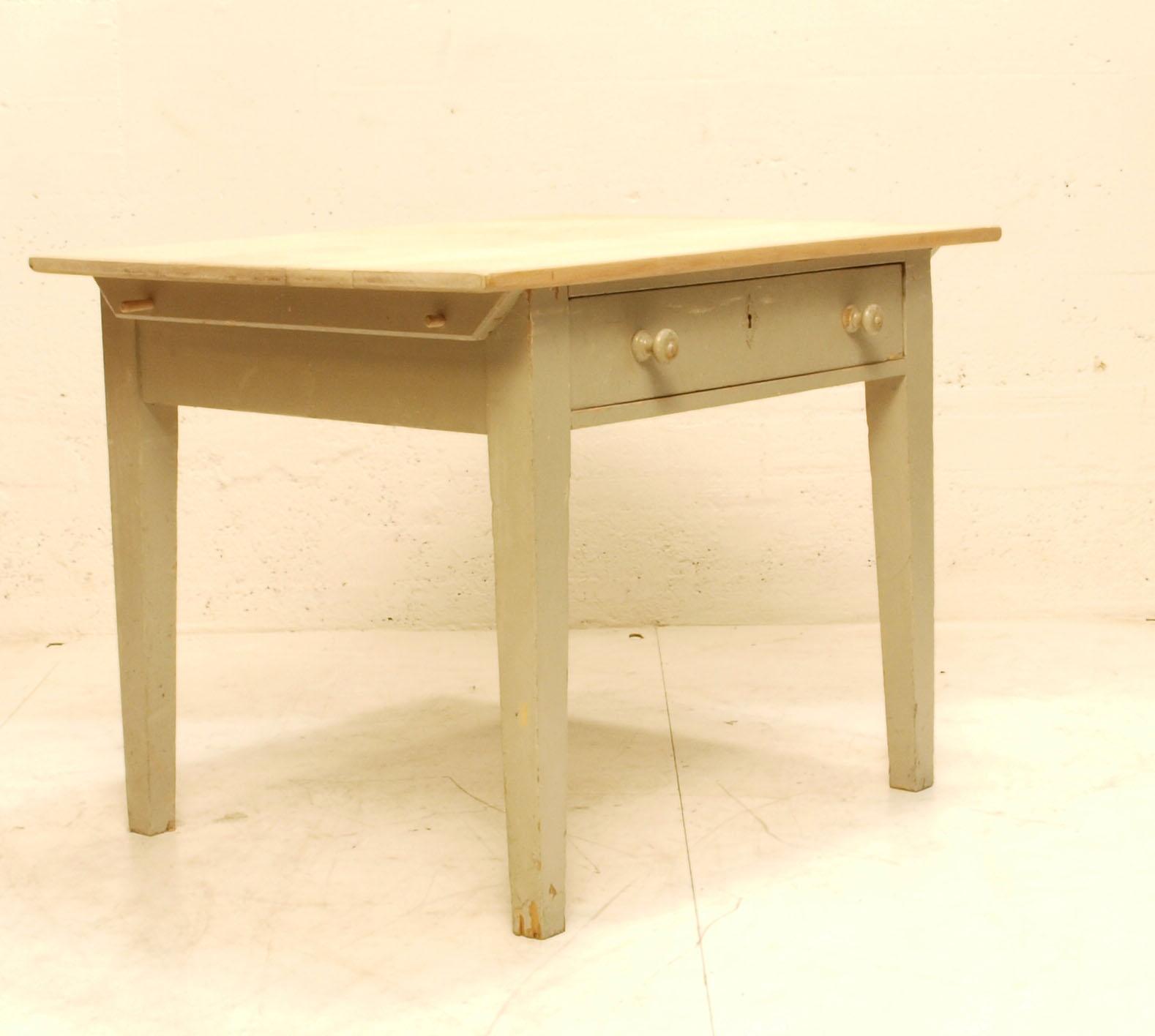 wundersch ner k chentisch mit ahornplatte m bel z rich vintagem bel. Black Bedroom Furniture Sets. Home Design Ideas