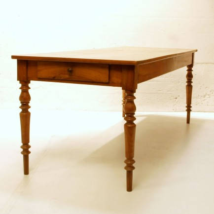 Kirschbaumtisch renoviert 2 meter lang m bel z rich for Schreibtisch 2 meter lang