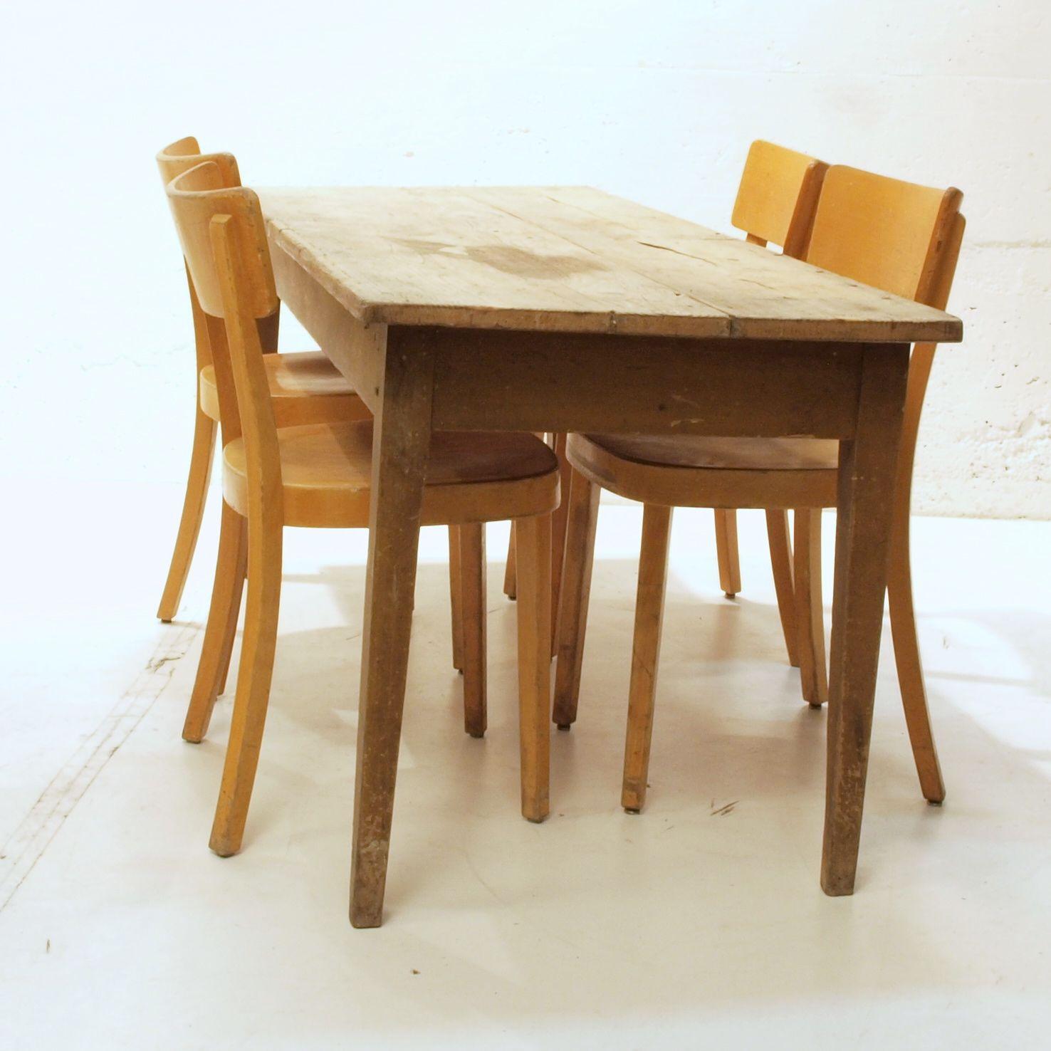 Langer esstisch magnum tisch aus massivholz nox in for Schmaler langer esstisch