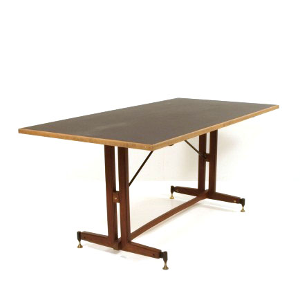 Italienischer Tisch Mit Neuer Linoleumoberfläche Möbel Zürich