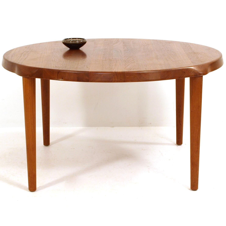 massiv teakholz clubtisch von glostrup m bel z rich vintagem bel. Black Bedroom Furniture Sets. Home Design Ideas