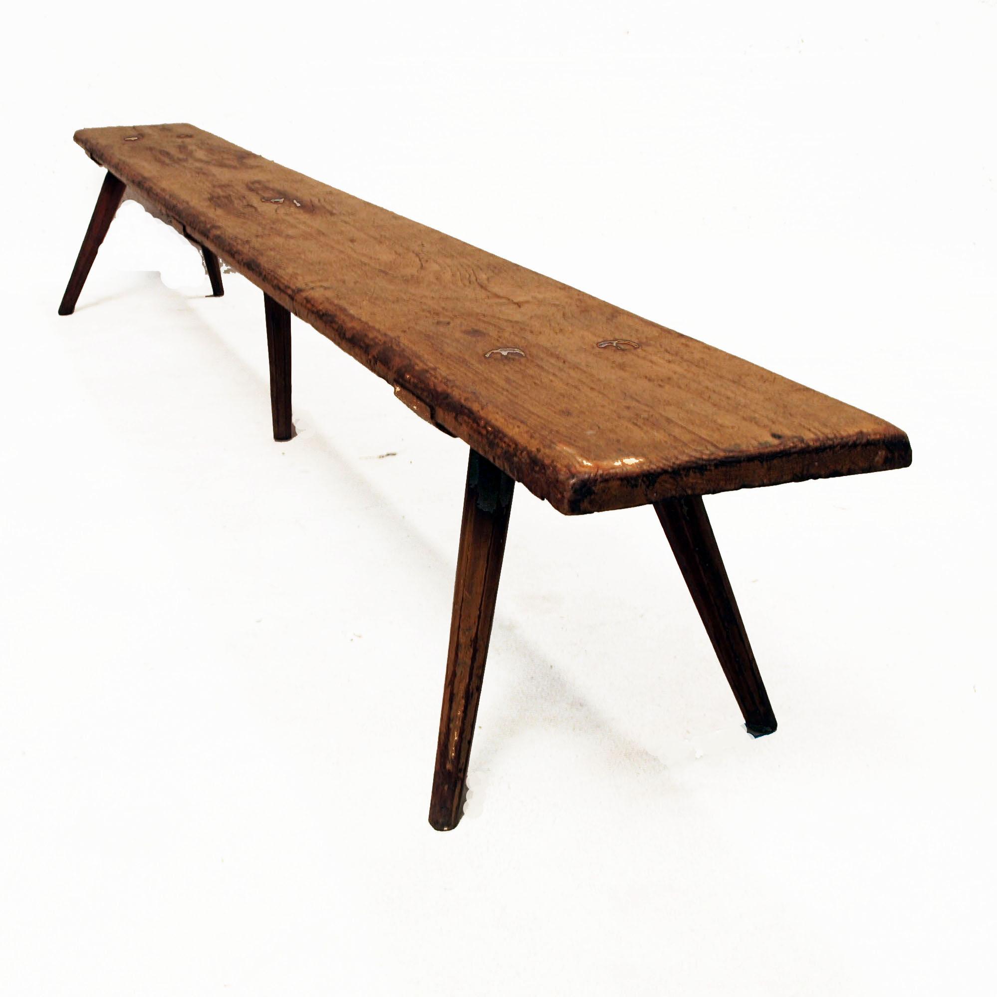 kinder holzbank antik mit patina m bel z rich vintagem bel. Black Bedroom Furniture Sets. Home Design Ideas