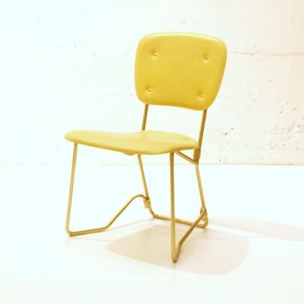 stapelstuhl aluflex gepolstert 6 stk m bel z rich vintagem bel. Black Bedroom Furniture Sets. Home Design Ideas