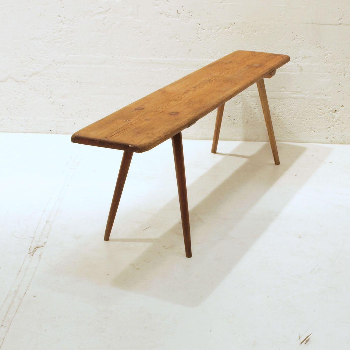 holzbank tanne geschliffen und ge lt m bel z rich vintagem bel. Black Bedroom Furniture Sets. Home Design Ideas