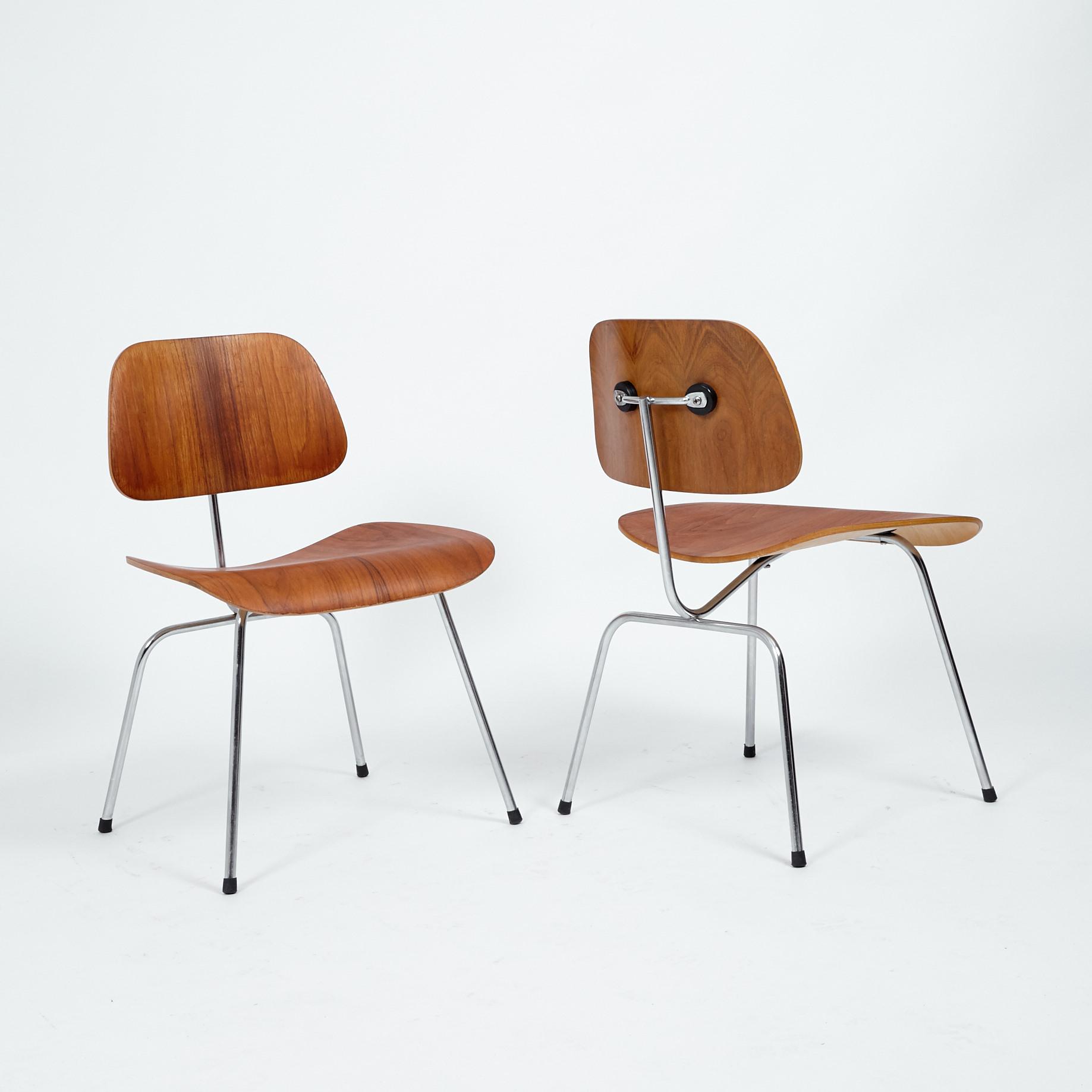 2er-Set Eames Plywood Dining Chair (DCM)   Möbel Zürich   Vintagemöbel