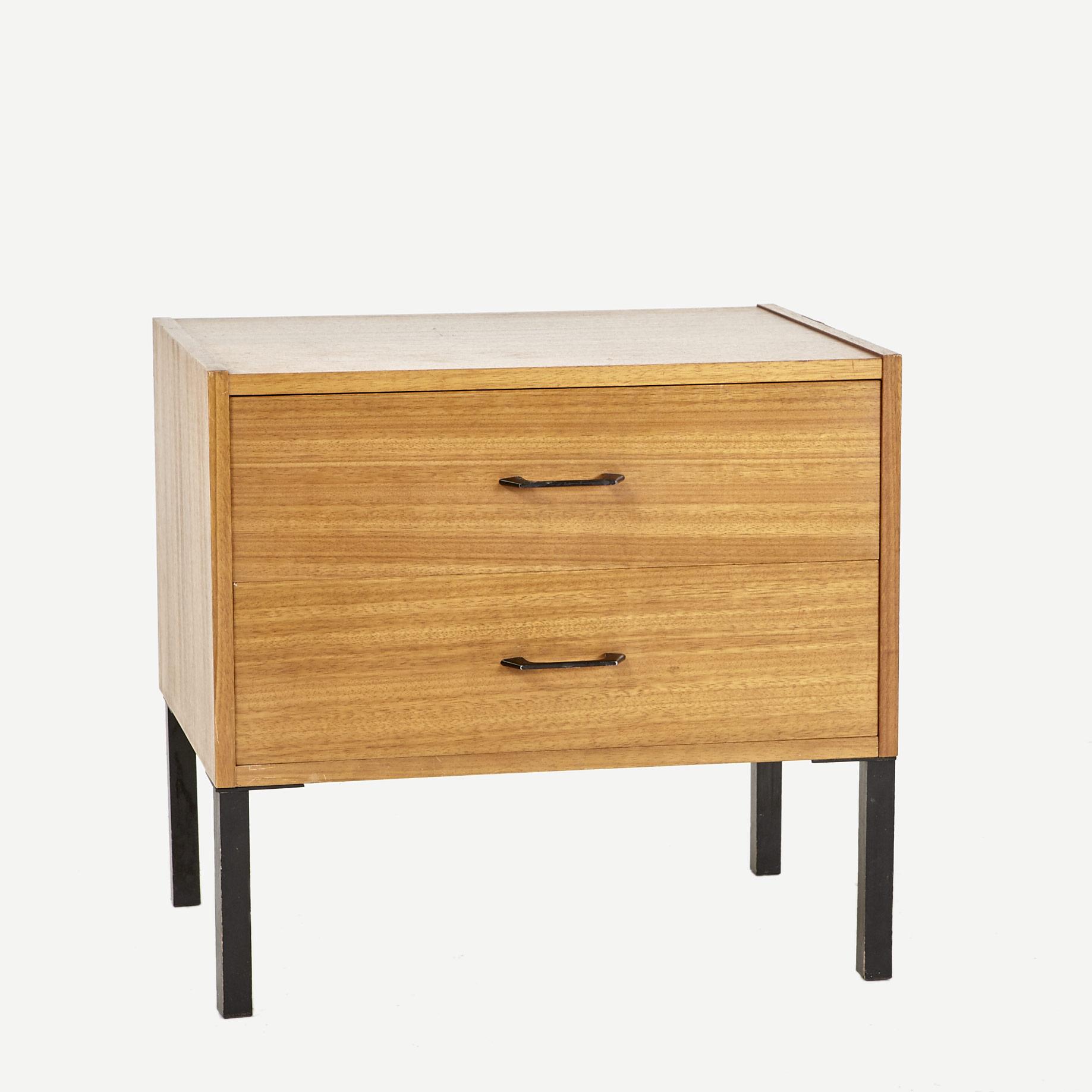 nachttischchen teakfurnier m bel z rich vintagem bel. Black Bedroom Furniture Sets. Home Design Ideas