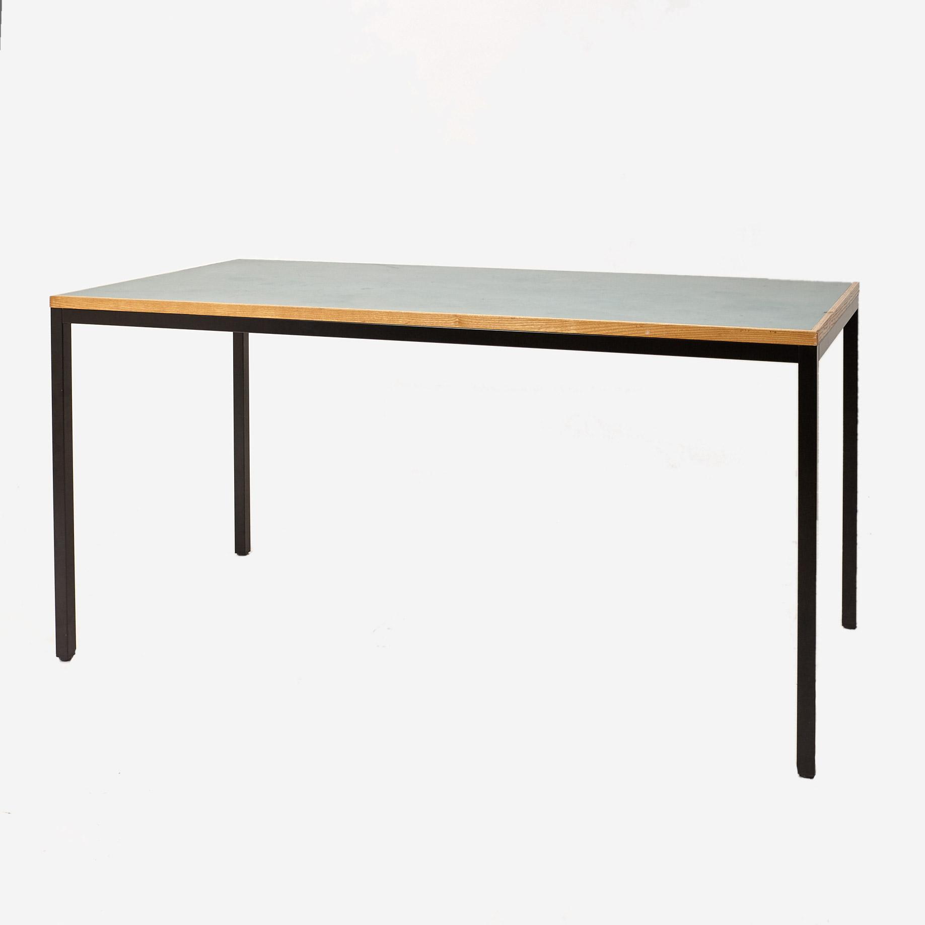 arbeits esstisch von embru ch m bel z rich vintagem bel. Black Bedroom Furniture Sets. Home Design Ideas