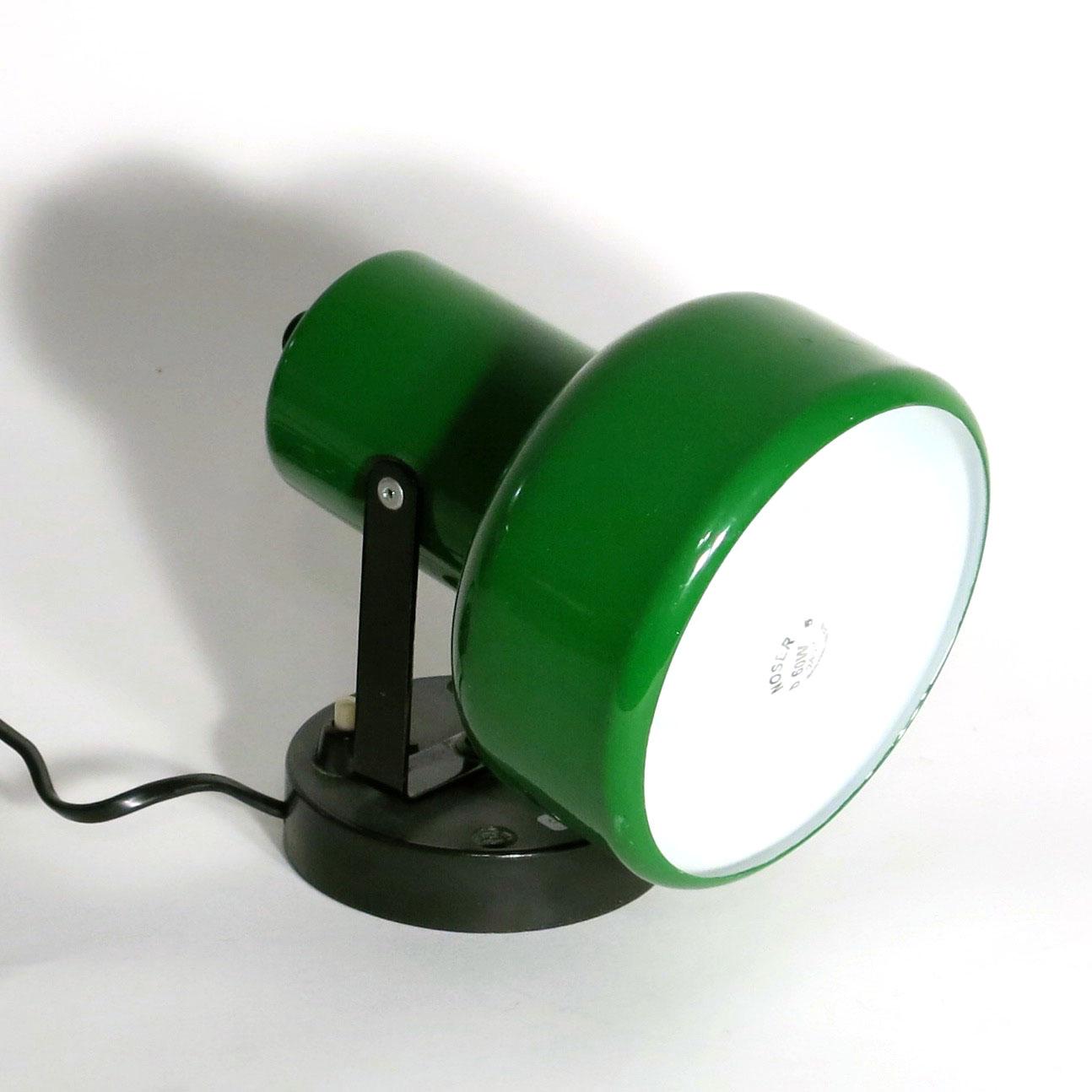wandspotlampe gr n m bel z rich vintagem bel. Black Bedroom Furniture Sets. Home Design Ideas