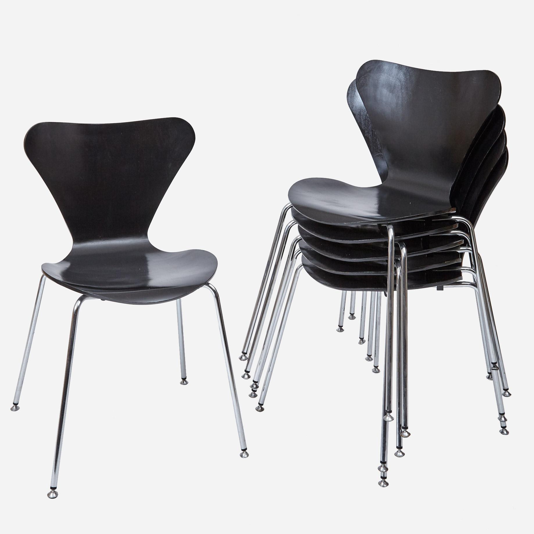 Stuhl 3107 von Arne Jacobsen (2 Stk.) | Möbel Zürich ...