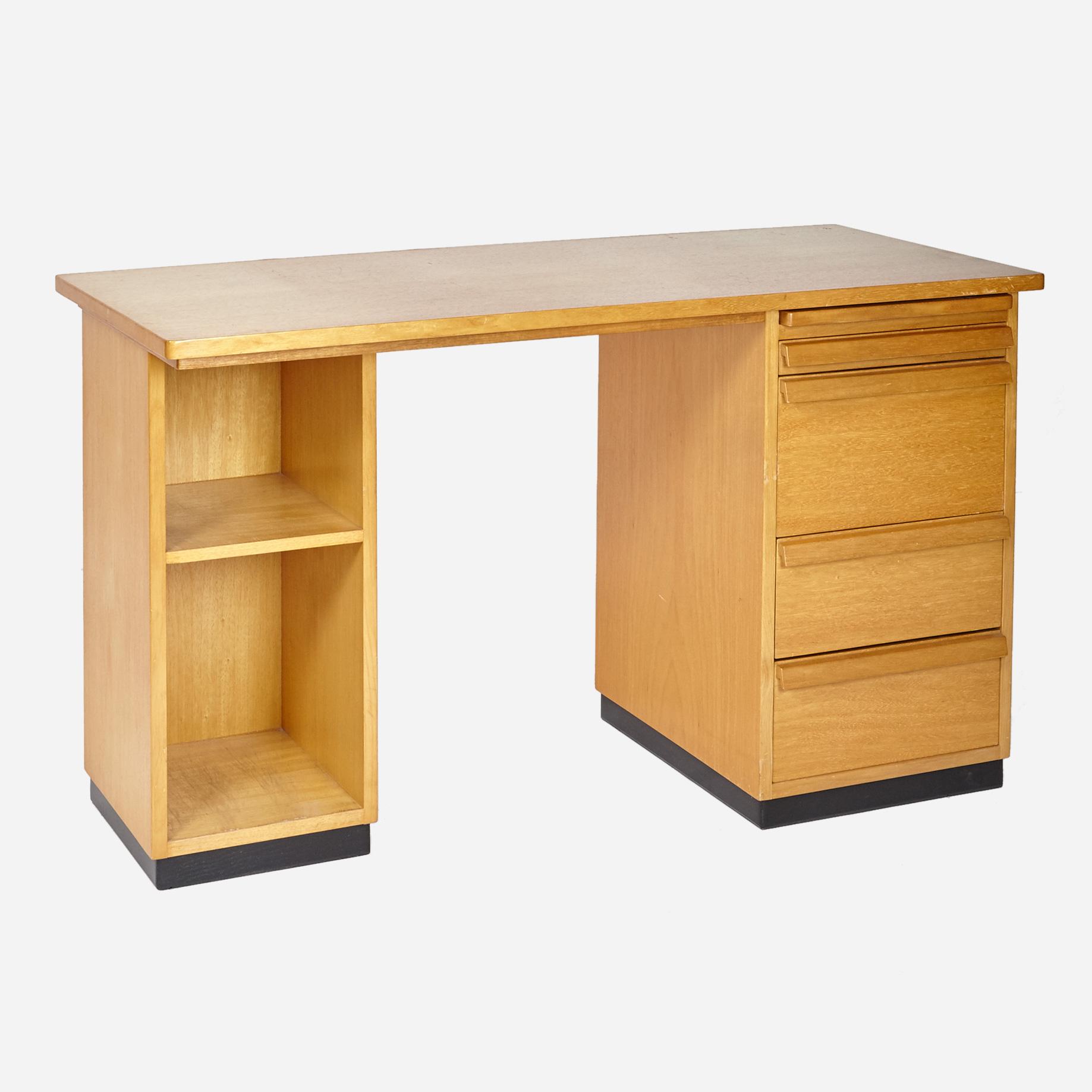 holzpult mit korpus m bel z rich vintagem bel. Black Bedroom Furniture Sets. Home Design Ideas