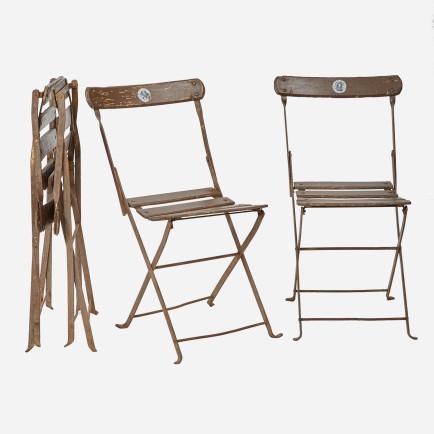 balkonst hle mit spezial klappmechanismus noch 2 stk. Black Bedroom Furniture Sets. Home Design Ideas