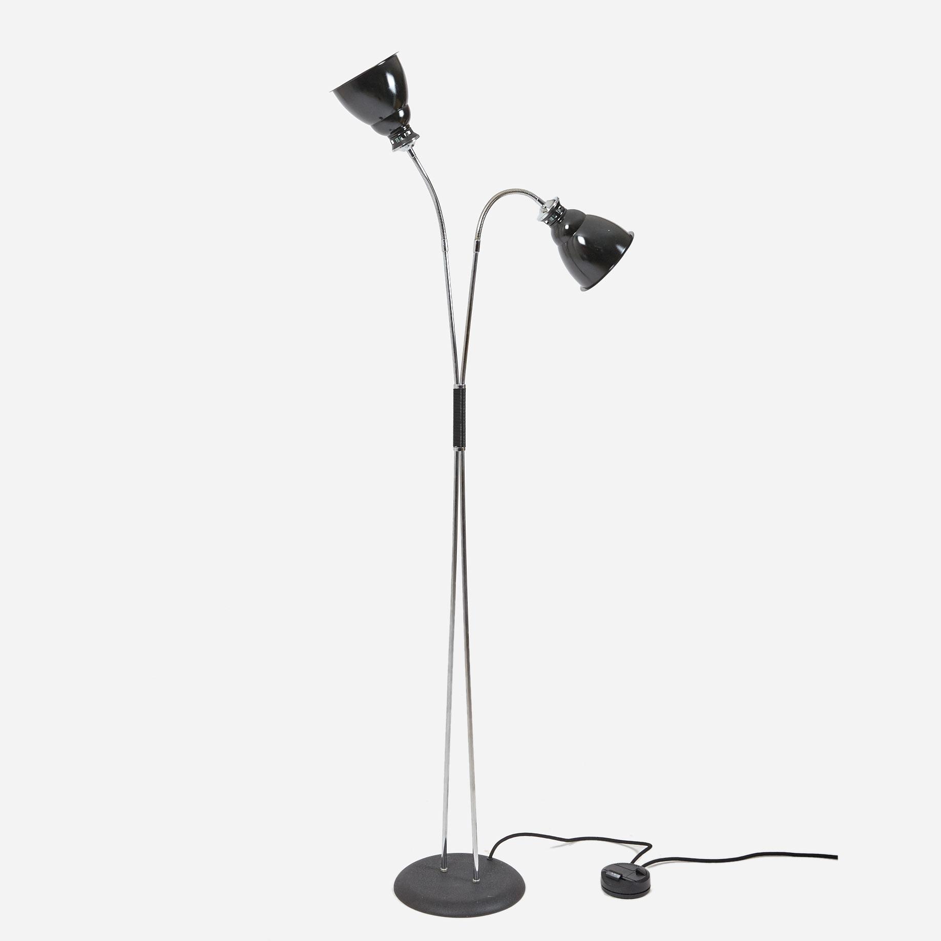 stehlampe dimmbar neuwertig m bel z rich vintagem bel. Black Bedroom Furniture Sets. Home Design Ideas