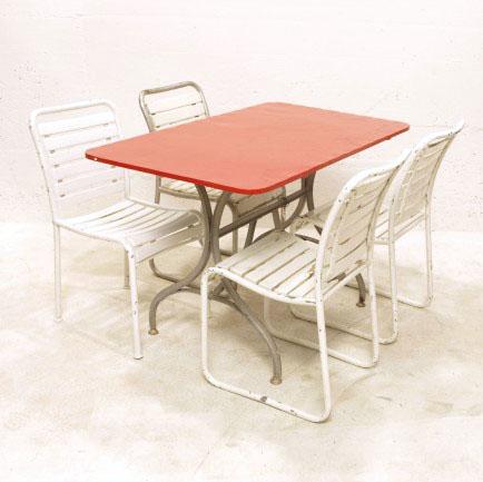bigla gartenst hle weiss gestrichen m bel z rich vintagem bel. Black Bedroom Furniture Sets. Home Design Ideas