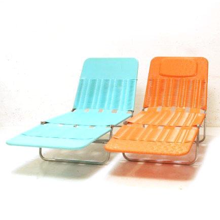 plastik liegestuhl
