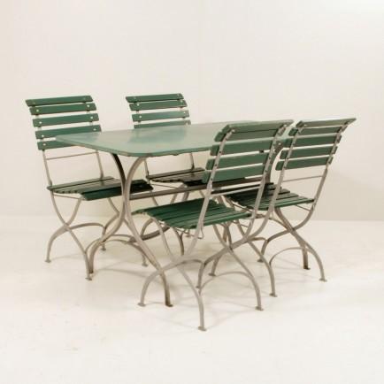 jugendstil gartentisch t rkis m bel z rich vintagem bel. Black Bedroom Furniture Sets. Home Design Ideas