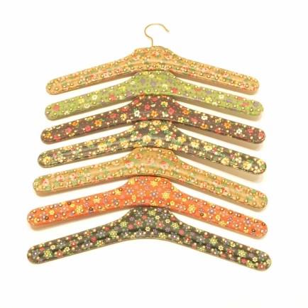 kleiderbügel, lederbügel, 50er Jahre, kleinware, secondhand