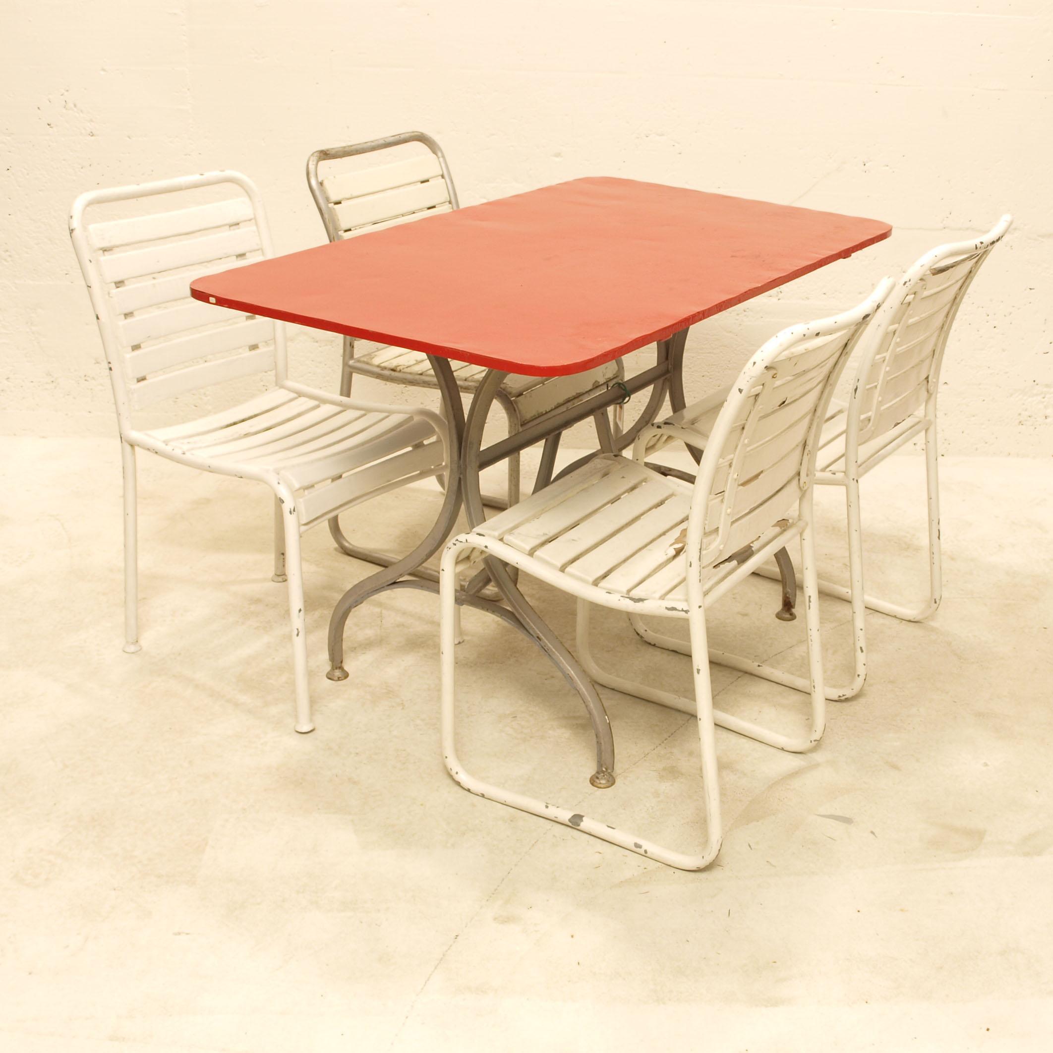 biergartentisch jugendstil m bel z rich vintagem bel. Black Bedroom Furniture Sets. Home Design Ideas