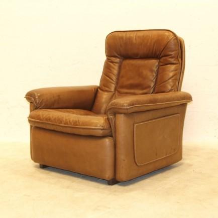 desede ledersessel braun m bel z rich vintagem bel. Black Bedroom Furniture Sets. Home Design Ideas