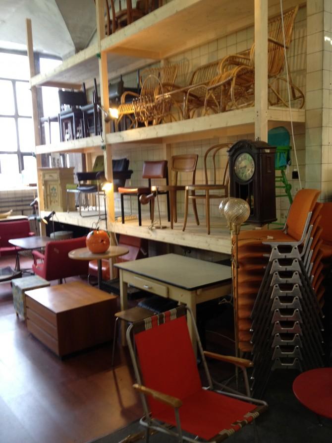 Eroffnung Brockenhaus Mit Werkstatt Mobel Zurich Vintagemobel