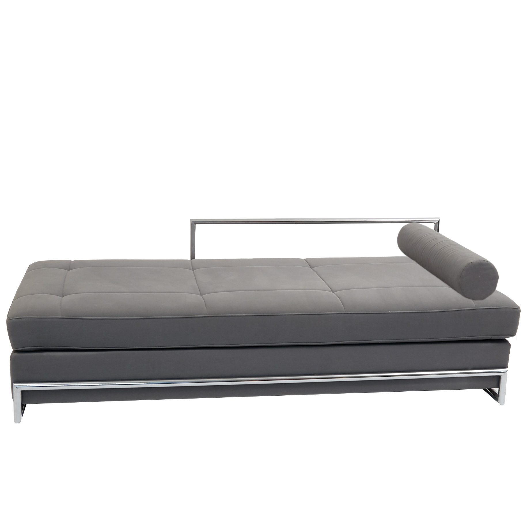 eileen gray daybed von cassina mit nackenrolle m bel z rich vintagem bel. Black Bedroom Furniture Sets. Home Design Ideas