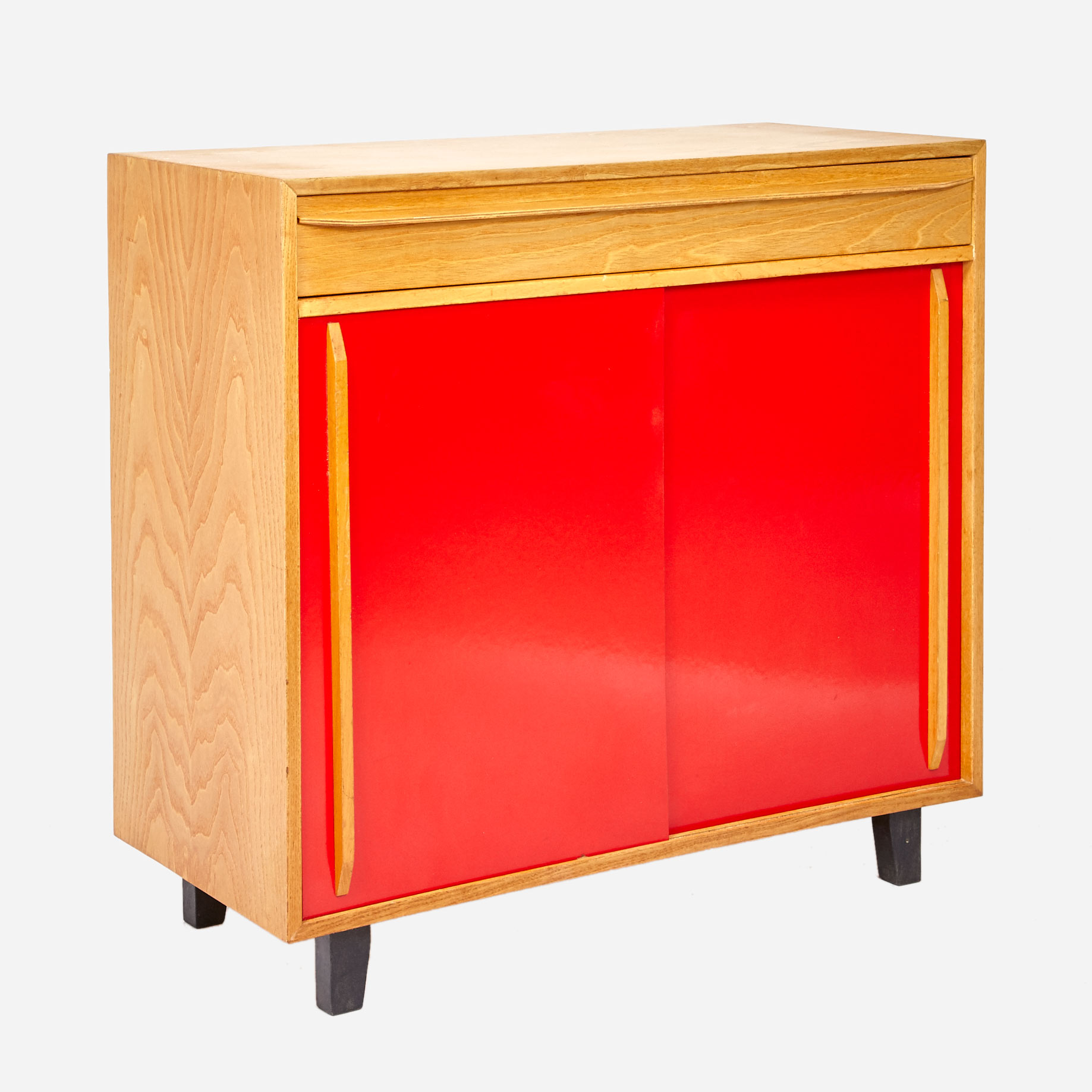 schiebeschrank aus eschenholz restauriert m bel z rich vintagem bel. Black Bedroom Furniture Sets. Home Design Ideas