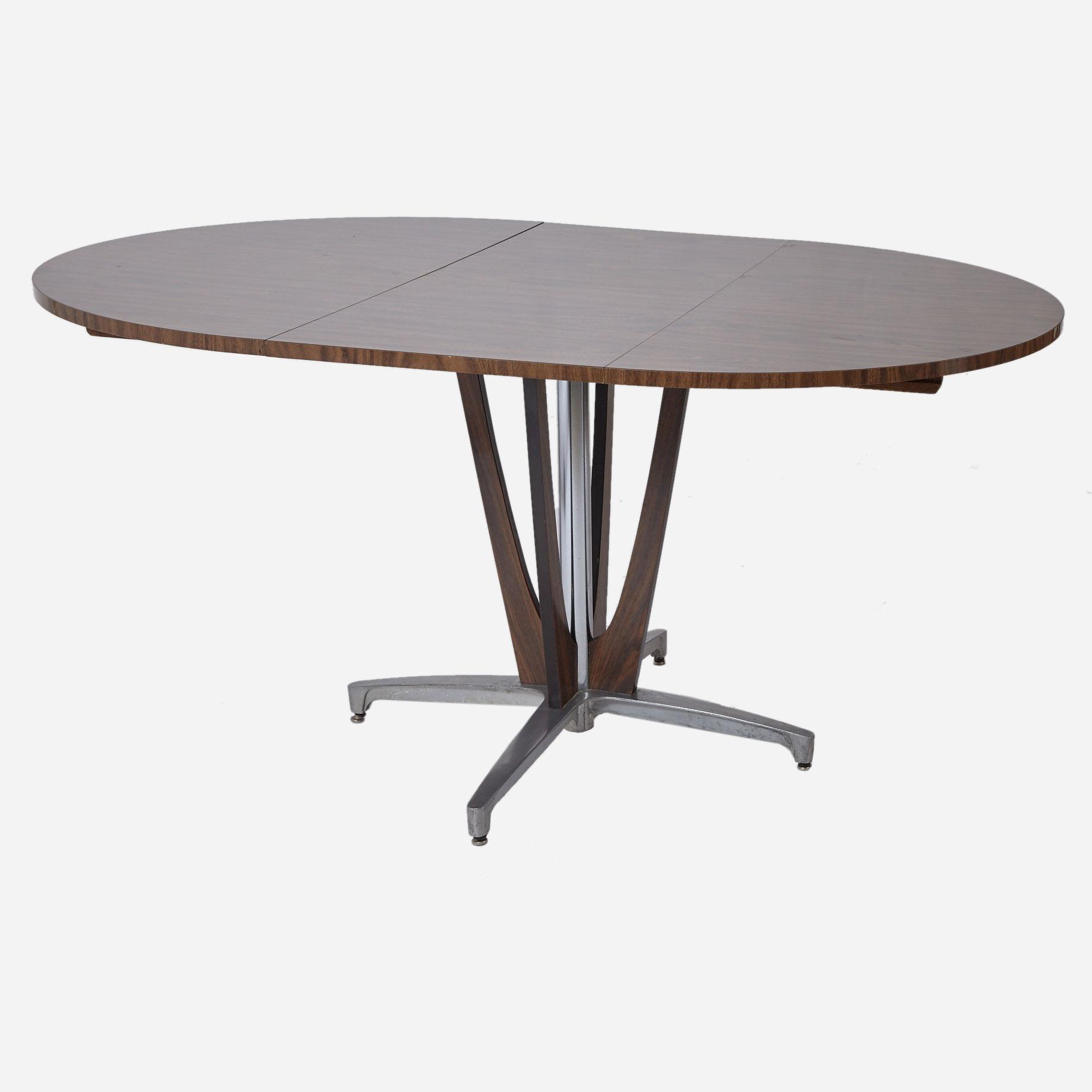 Palisander tisch ausziehbar m bel z rich vintagem bel for Palisander tisch