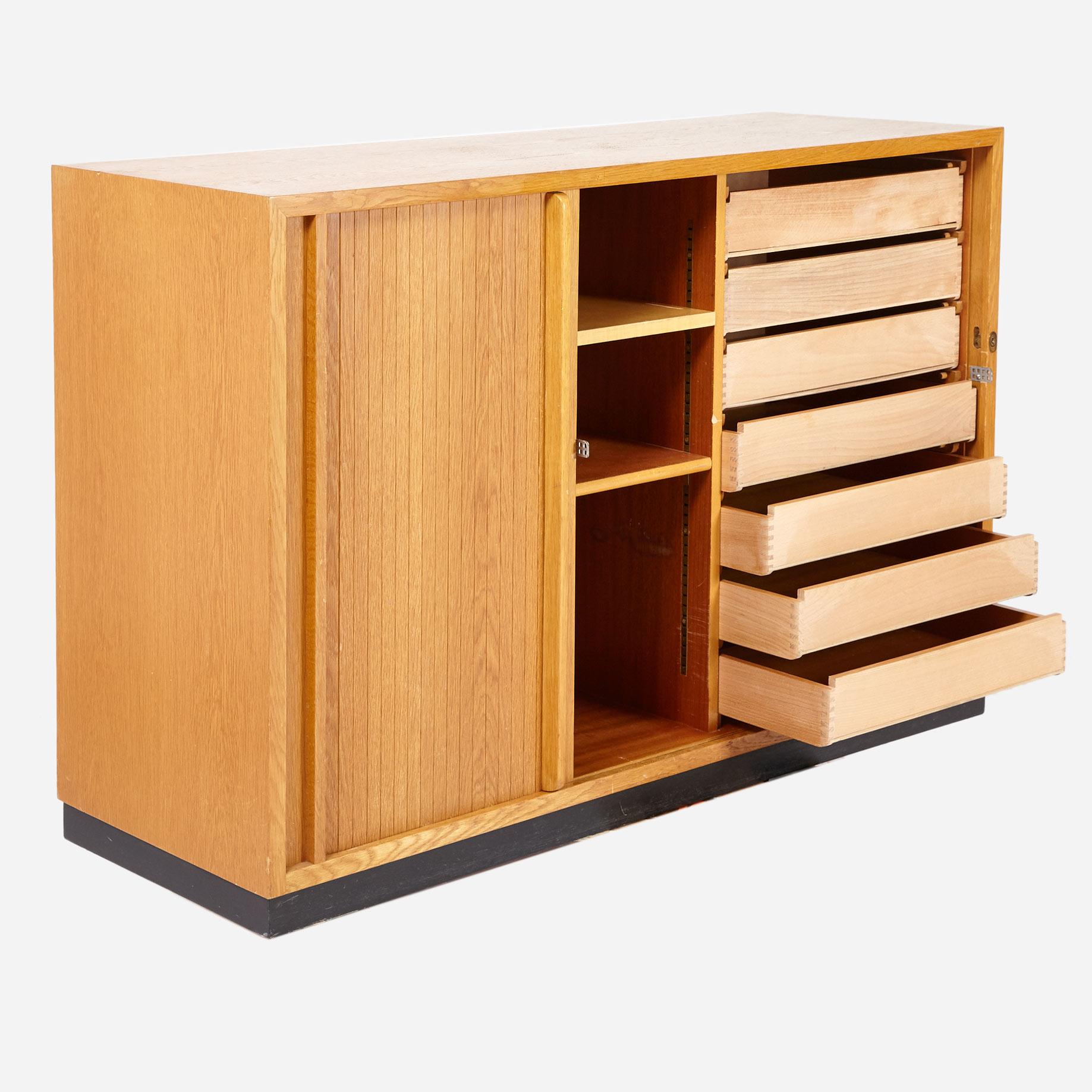 lateral korpus mit schubladen m bel z rich vintagem bel. Black Bedroom Furniture Sets. Home Design Ideas