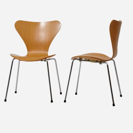 arne jacobsen st hle modell 3107 m bel z rich. Black Bedroom Furniture Sets. Home Design Ideas