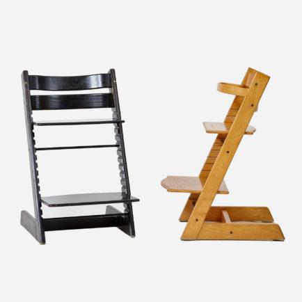 brauner tripp trapp m bel z rich vintagem bel. Black Bedroom Furniture Sets. Home Design Ideas
