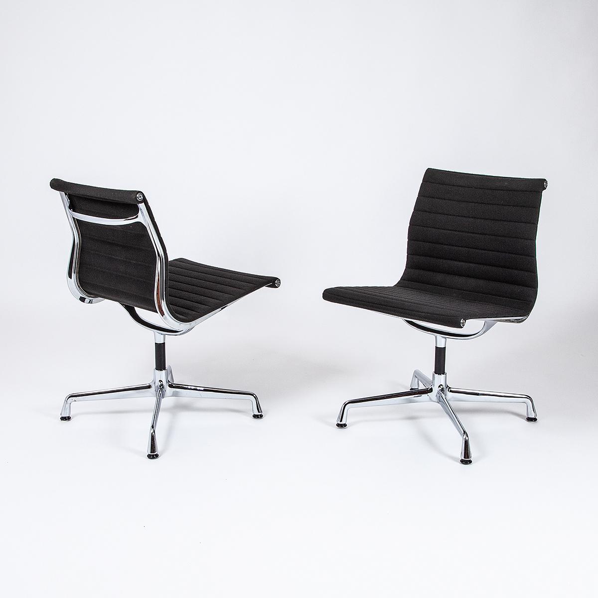 Vitra Aluminium Chair Für Eames Mit Stoffpolster 5 Stk Möbel