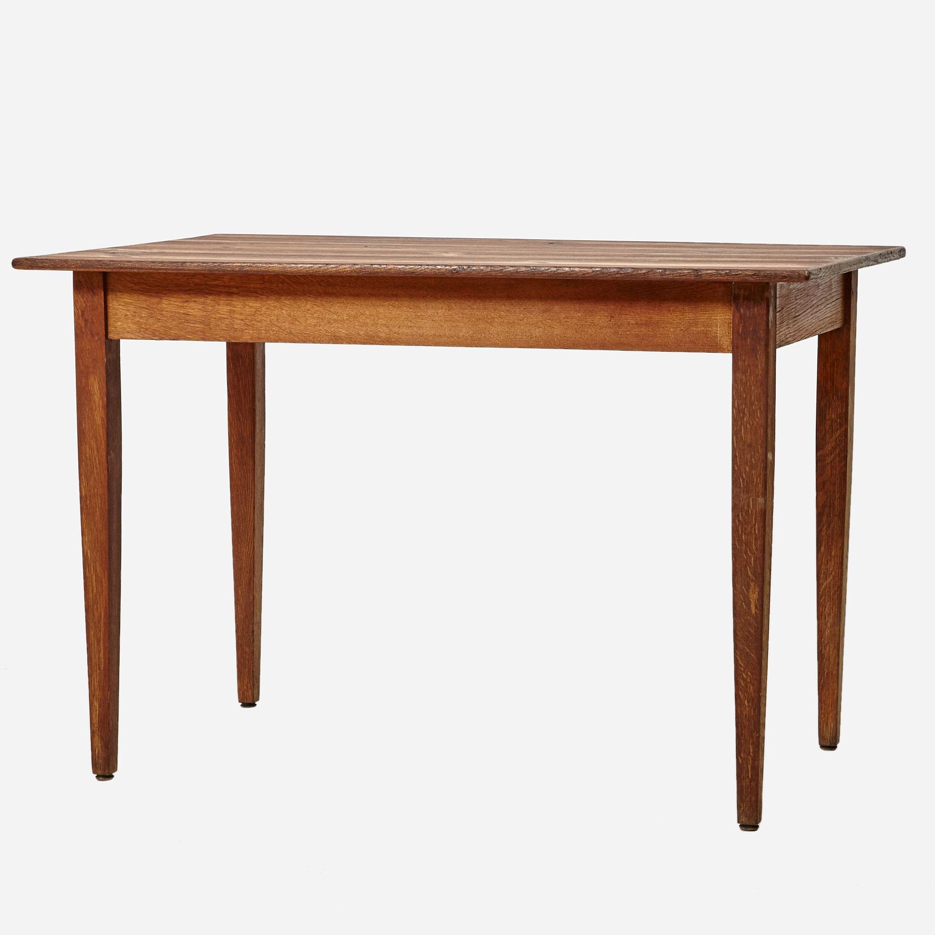 k chentisch aus tannenholz geschliffen und ge lt m bel. Black Bedroom Furniture Sets. Home Design Ideas