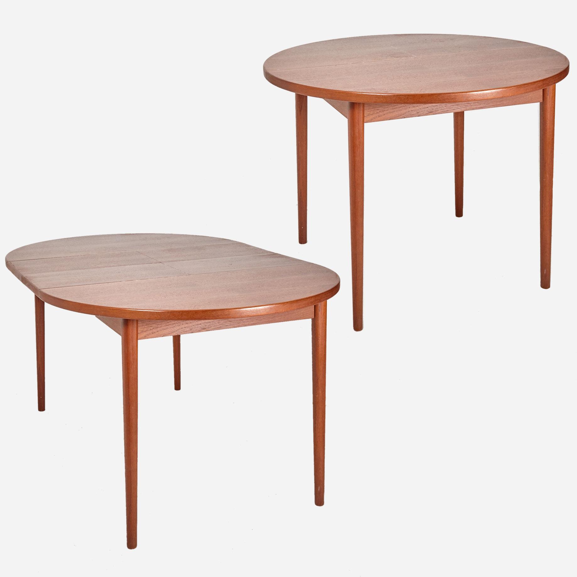 teaktisch mit auszug troeds bjarnum sweden m bel z rich vintagem bel. Black Bedroom Furniture Sets. Home Design Ideas