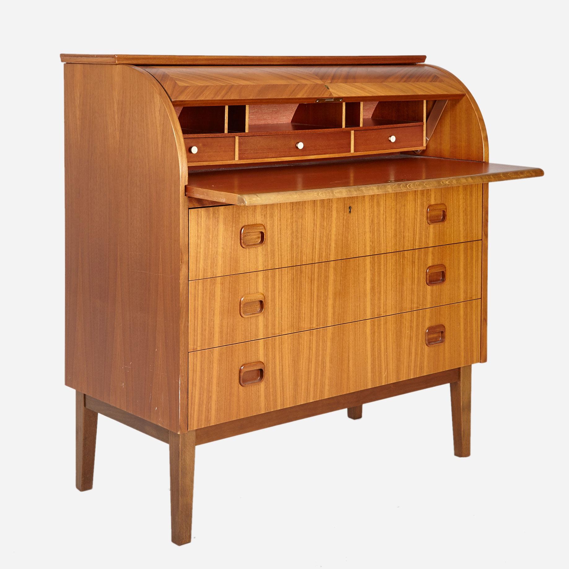 sekret r aus teakholz m bel z rich vintagem bel. Black Bedroom Furniture Sets. Home Design Ideas