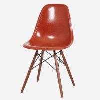 Eames Sidechair Rot Mit Base Nach Wahl
