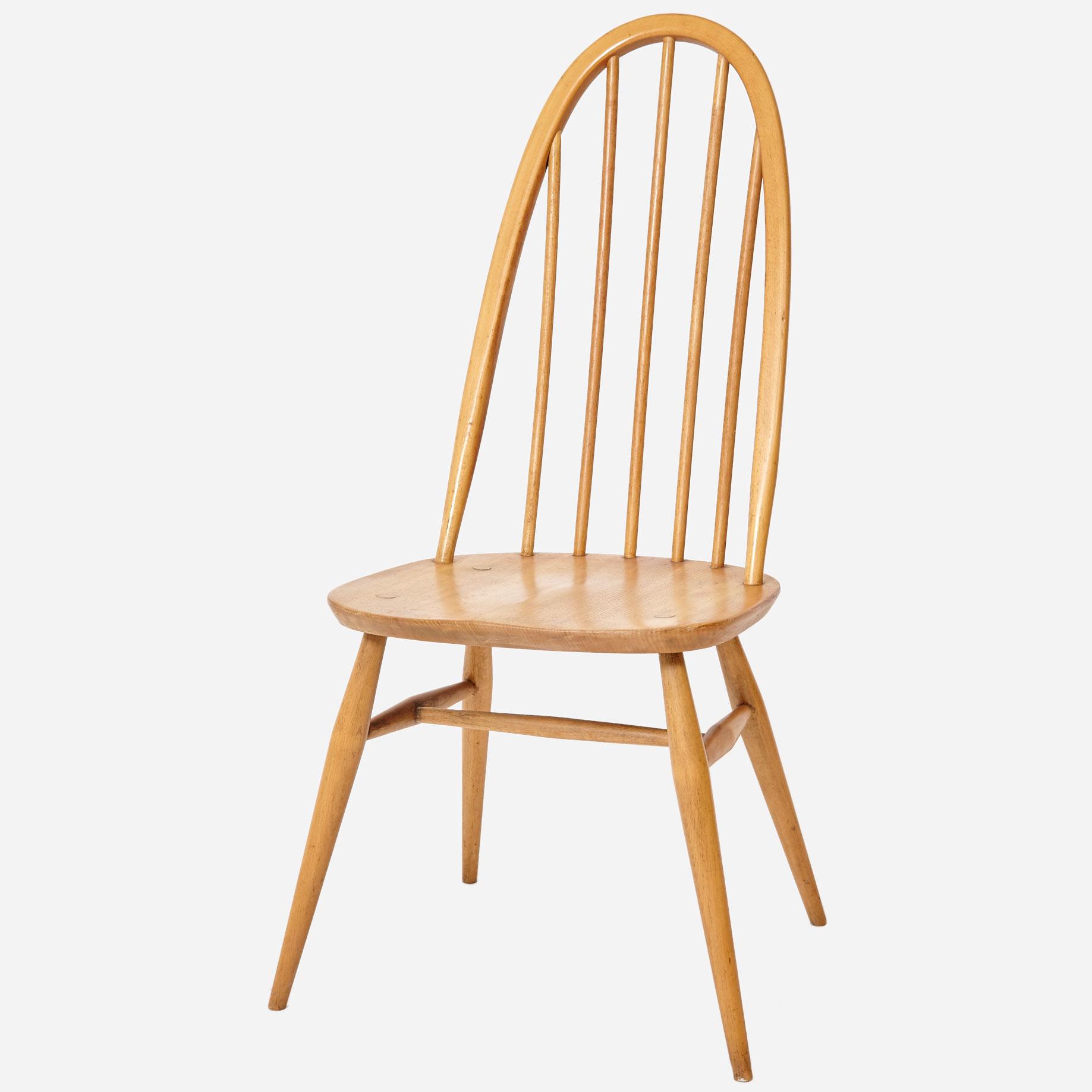 4er set ercol quaker chair aus england m bel z rich vintagem bel. Black Bedroom Furniture Sets. Home Design Ideas