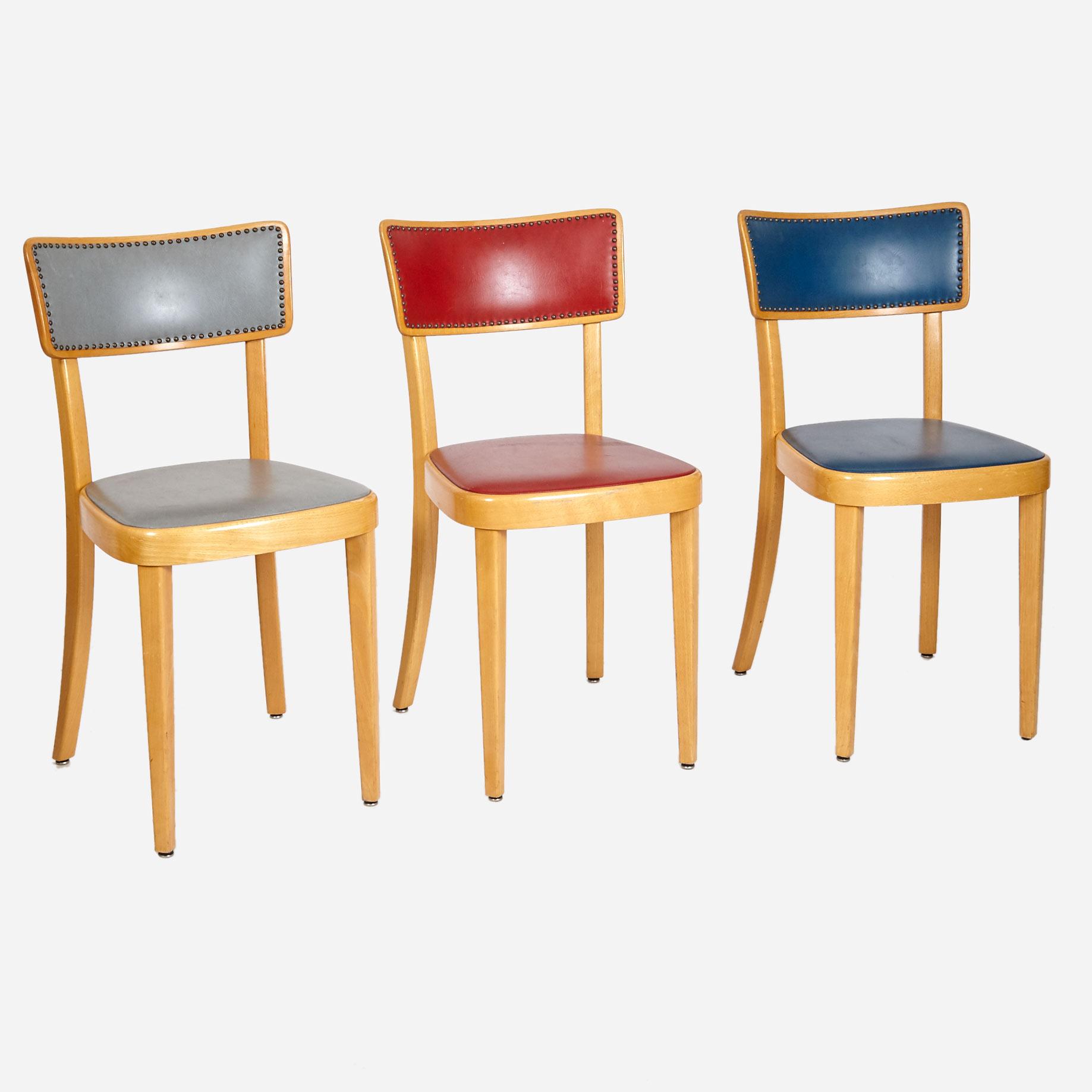 beizenst hle mit farbigen polstern m bel z rich. Black Bedroom Furniture Sets. Home Design Ideas