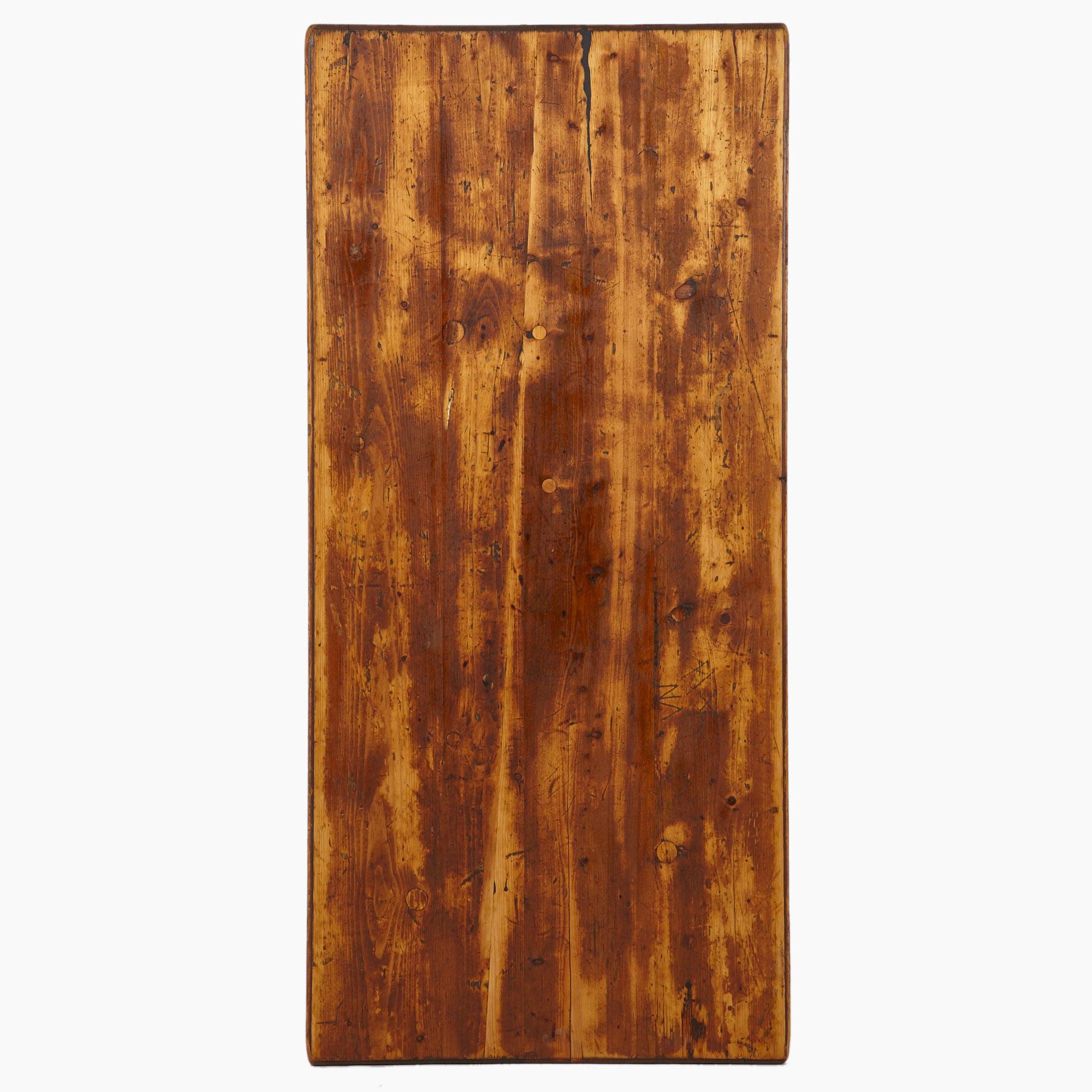 tischplatte aus fichtenholz geschliffen und ge lt m bel. Black Bedroom Furniture Sets. Home Design Ideas