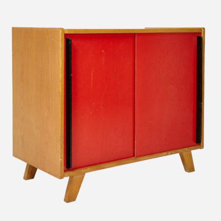 schiebeschrank 1950er jahre m bel z rich vintagem bel. Black Bedroom Furniture Sets. Home Design Ideas