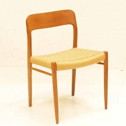 niels moeller st hle danish design noch 6 stk m bel z rich vintagem bel. Black Bedroom Furniture Sets. Home Design Ideas