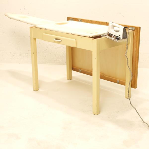 k chentisch mit b gelbrett m bel z rich vintagem bel. Black Bedroom Furniture Sets. Home Design Ideas